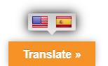 Botón cambiar idioma de Google Language Translator